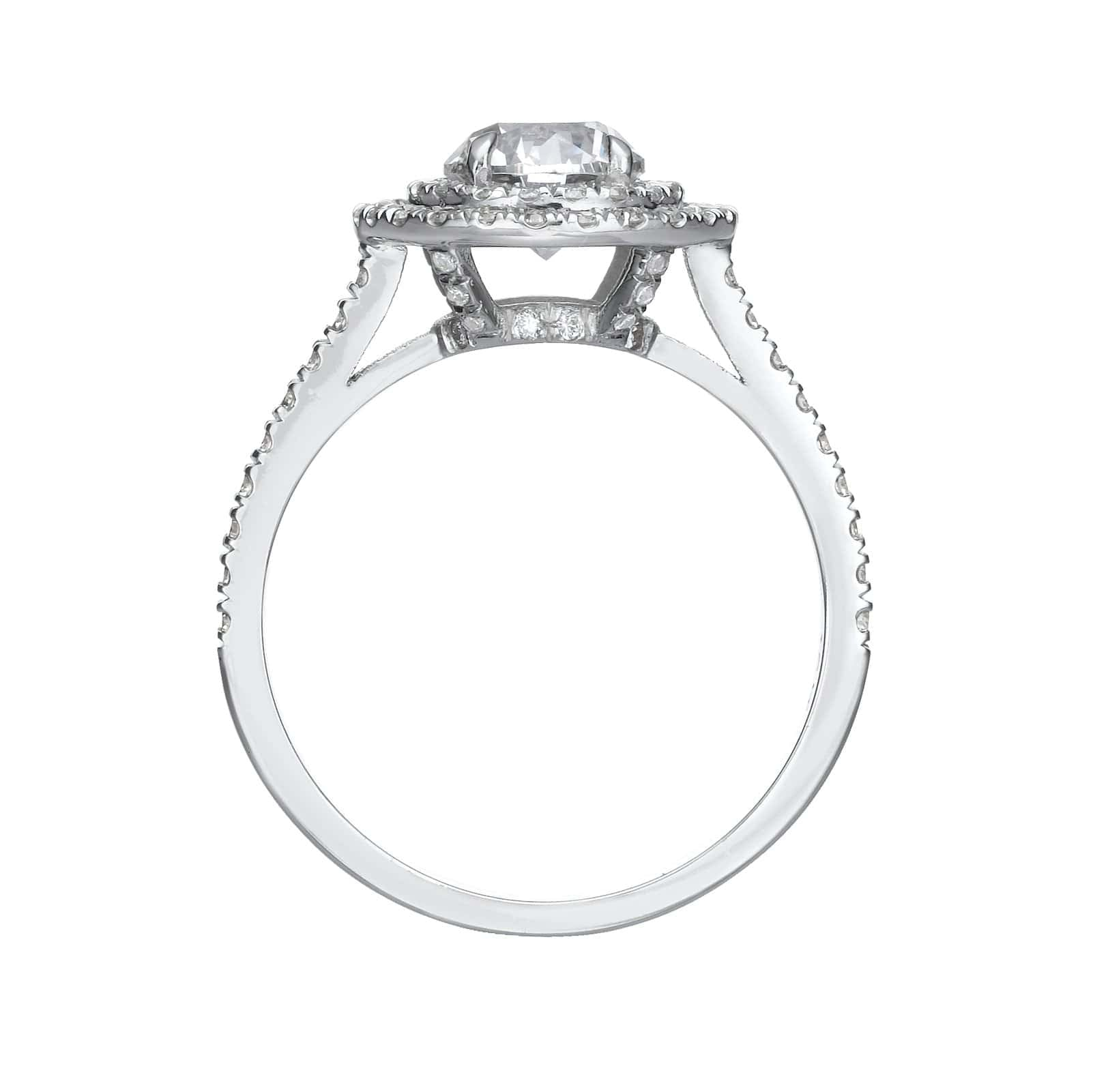 1.77 ct Round Brilliant Cut Diamond Engagement Ring