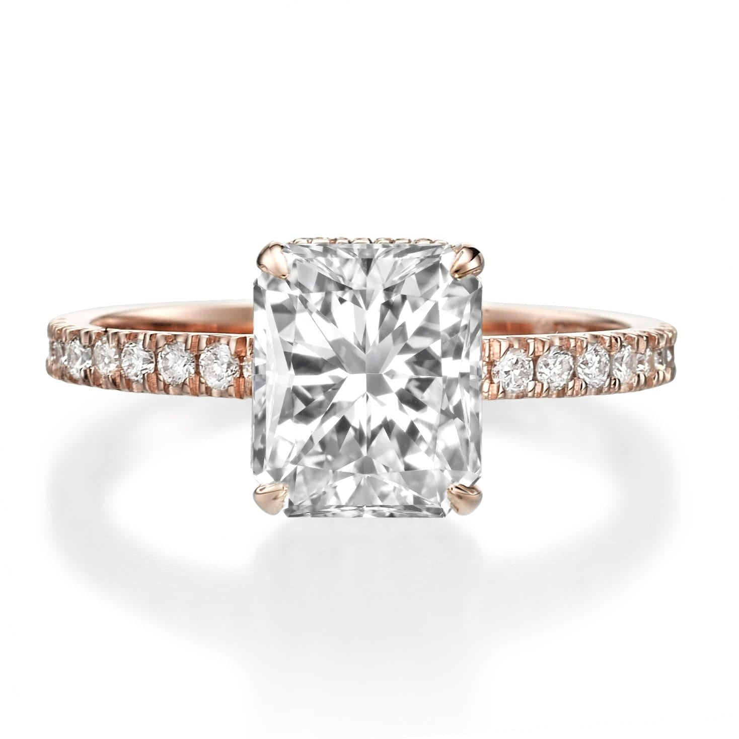 famous cut ring pin rings carat who wears engagement this halo radiant