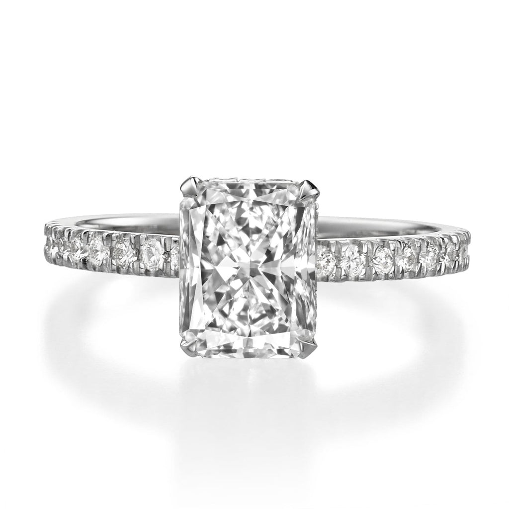 2.00 ct Radiant Cut Diamond Engagement Ring