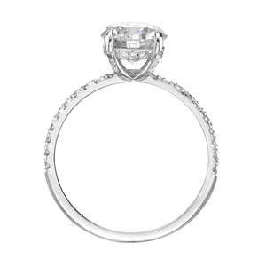 2.02 ct Round Brilliant Cut Diamond Engagement Ring