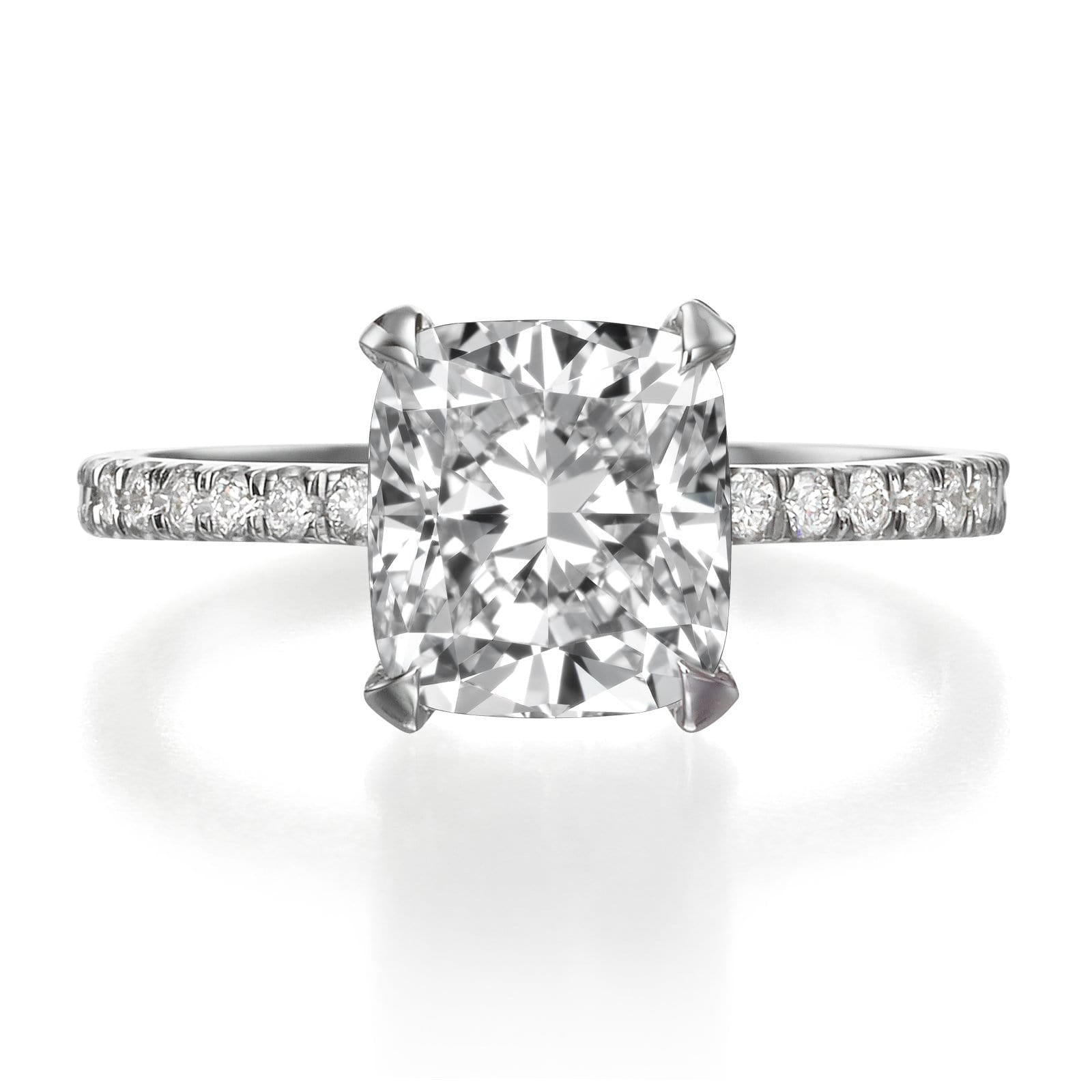 princess rings outlet a cut with ring diamond jewelry diamondland engagement