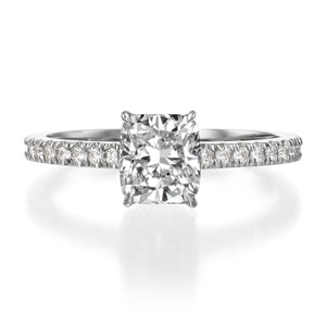 1.50 ct Cushion Cut Diamond Engagement Ring
