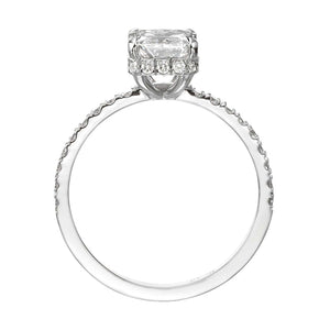 2.00 ct Radiant Cut Diamond Engagment Ring