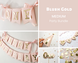 Girl 1st Birthday Party Bundle