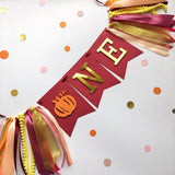 Pumpkin One High Chair Banner