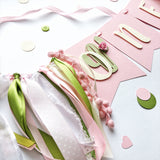 Cactus Girl One High Chair Banner CD005