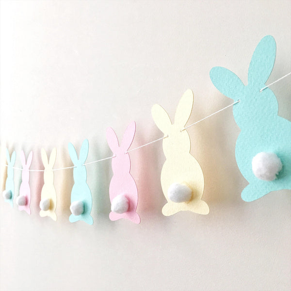 Pastel Bunny Easter Garland