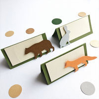 Forest Animals Place Cards