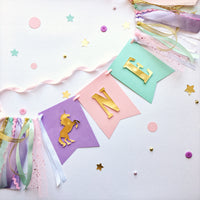 Unicorn One High Chair Banner UD002