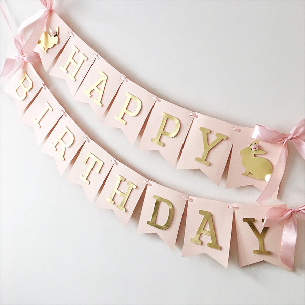 Some Bunny Is One Banner Bunny 1st Birthday Decoration Spring Girl 1st Birthday Easter Birthday Banner Spring Baby Shower Banner LB001