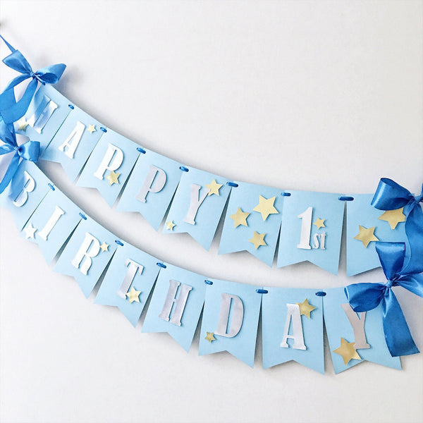 Twinkle Twinkle Little Star Banner MS001