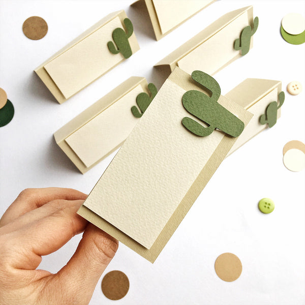 Cactus Place Cards