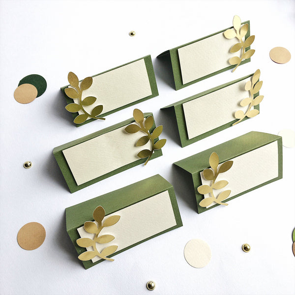 Greenery Place Cards