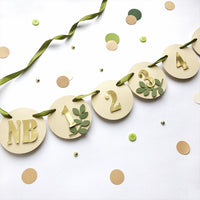 Greenery 12 Month Photo Banner