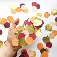 Autumn Pumpkin Confetti