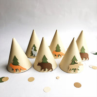 Woodland Party Hats