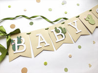 Cactus Baby Shower Banner