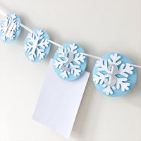 Boy Winter Onederland 12 Month Photo Banner