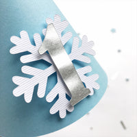 Boy Snowflake One Party Hat