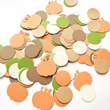 Boy Fall Pumpkin Confetti