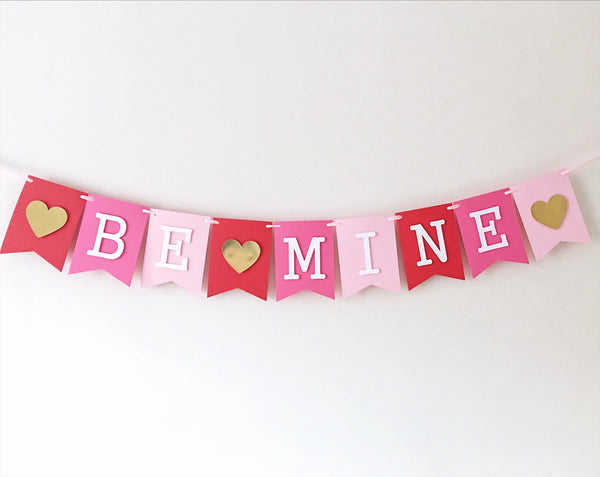 Be Mine Valentine Banner