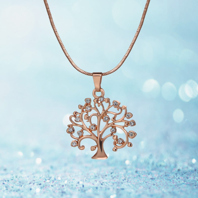 Exquisite Tree Of Life Pendant Necklace-Shopping Promos
