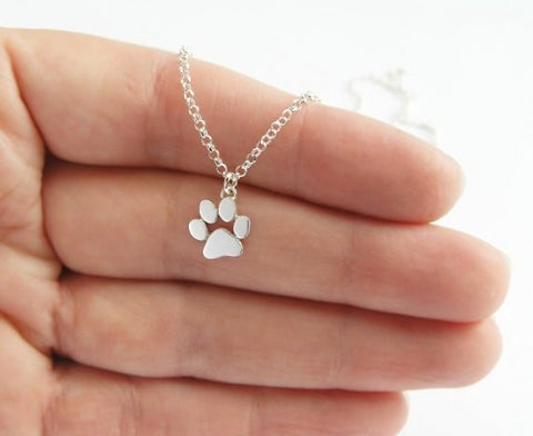 Cat Paw Print Animal Necklace-Shopping Promos