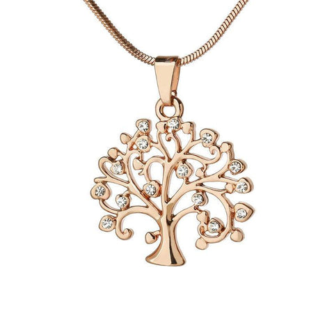 Image of Exquisite Tree Of Life Pendant Necklace-Shopping Promos