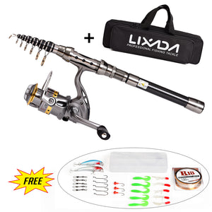 Telescopic Fishing Rod Reel Combo-Shopping Promos