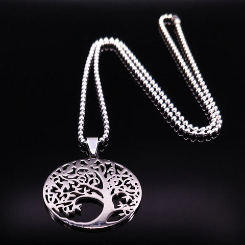 Bohemian Style Tree of Life Necklace-Shopping Promos