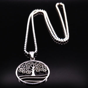 Bohemian Style Tree of Life Necklace