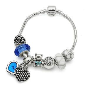 Beautiful MOTHER & SON Charm Bracelet-Shopping Promos