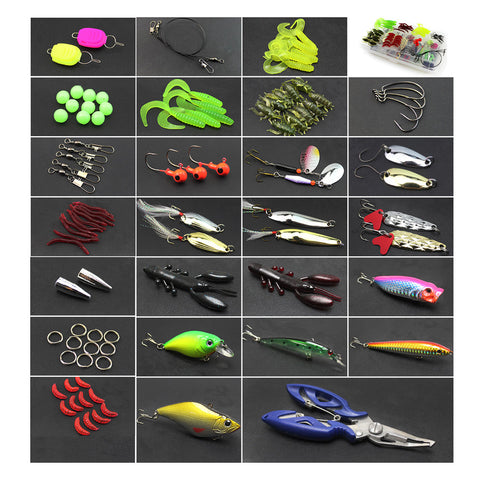 Image of Superb Fishing Lure Set With Choice Of 73/101/132/232 Pieces-Shopping Promos