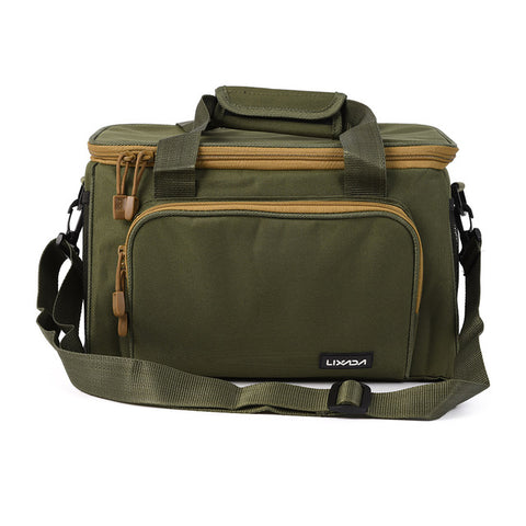 Image of Multifunctional Canvas Fishing Bag-Shopping Promos