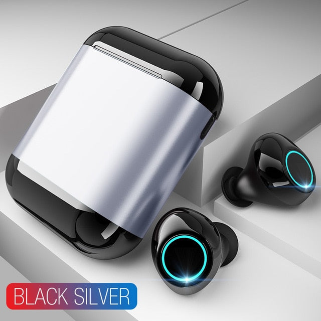 Bluetooth Headphones With Mic and Charging Box-Shopping Promos
