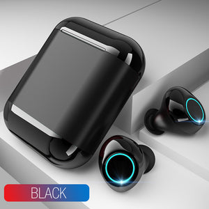 Bluetooth Headphones With Mic and Charging Box