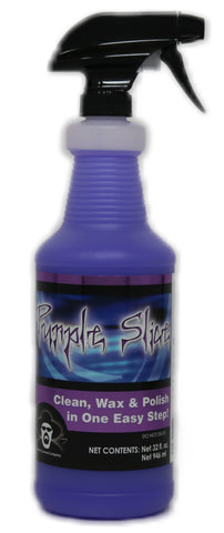 32 ounce bottle of purple Slice spray wax