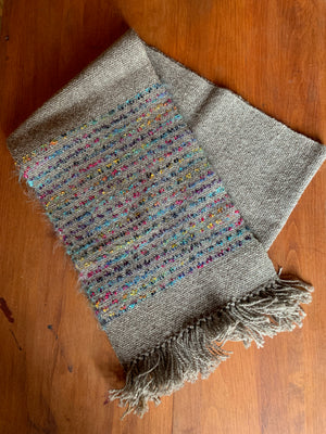 Handwoven Wool Blend Scarves