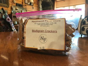 Nezinscot Nezinscot Farm Bakery | Homemade Multigrain Crackers