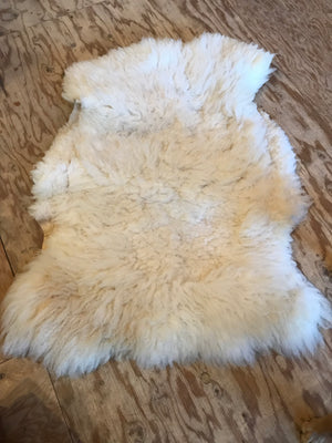 Natural Sheep Skin Fleece