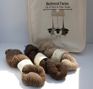 Yarn: Alpaca and Wool blend bundle