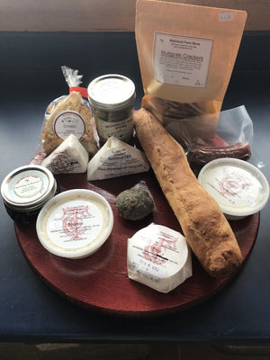 Cheese Sampler and Charcuterie Platters