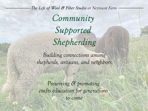 CSS: Community Supported Shepherding
