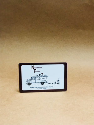 Nezinscot Farm Store | Gift Shop Gift Card