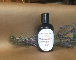 Organic body care. Nezinscot Farm Herbals Infused Oils
