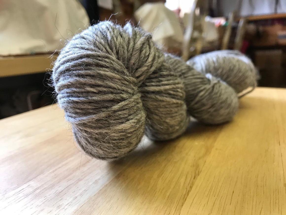 Yarn: Natural Mohair & Wool