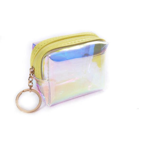 Mini Coin Purse Yellow - Kitmate