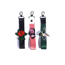 Wristlet Black Rose - LIMITED EDITION - - Kitmate