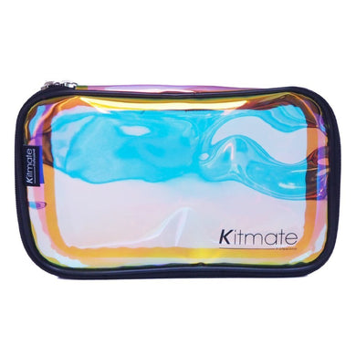 kitmate holographic makeup organizer bag