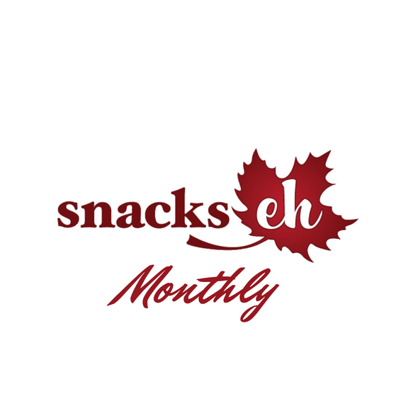 The Monthly Supply of Snacks Box